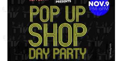 Pop up shop Day Party