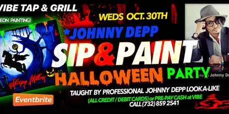 Halloween Painting Party with *Johnny Depp tickets