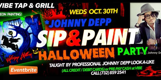 Halloween Painting Party with *Johnny Depp