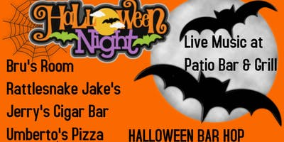 HALLOWEEN BAR HOP ~ DEERFIELD BEACH