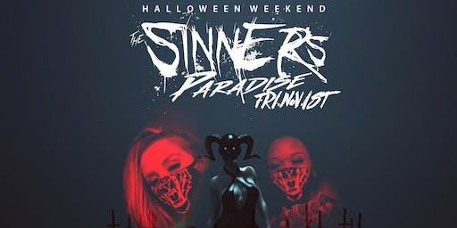 SINNERS PARADISE ALL BLACK PARTY