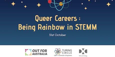 VIC: Queer Careers: Being Rainbow in STEMM tickets