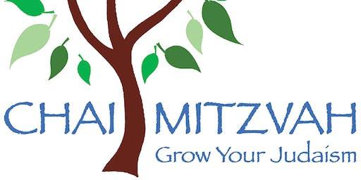 Chai Mitzvah