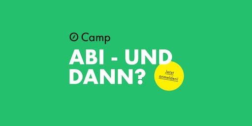 O-Camp Berlin - Berufsorientierung für AbiturientInnen