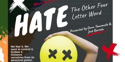 Hate - The Other Four Letter Word