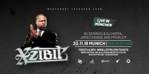 Xzibit  Live in Munich - 20.11.19 Backstage
