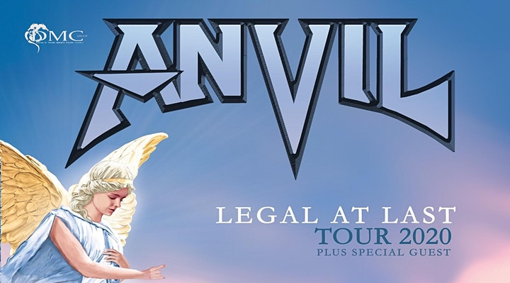 Afbeelding van new date : ANVIL + support @ South Of Heaven - Bilzen