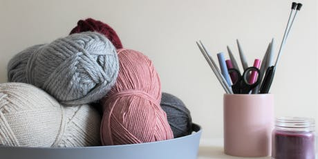 Knitting for Beginners with Sophie (Moloneymakes) tickets