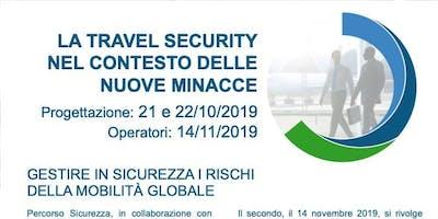 Travel Security - progettare e valutare le attività estere dei lavoratori