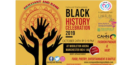 BAME Black History Celebration 2019