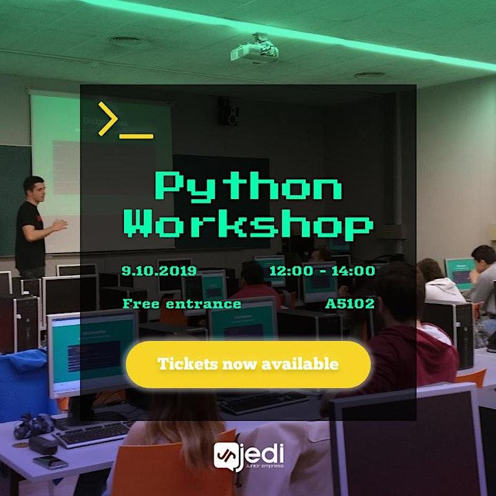 Imagen de Python introductory workshop