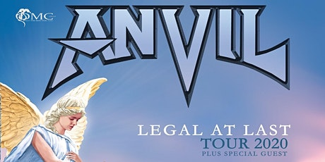 ANVIL + support @ South Of Heaven - Bilzen tickets