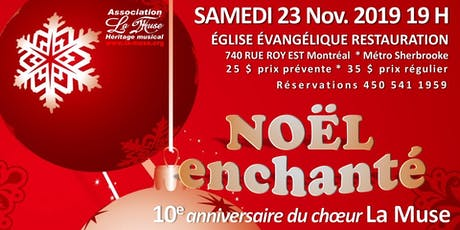 NOËL ENCHANTÉ tickets