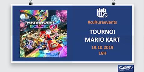 Tournoi Mario Kart 8 sur Switch billets