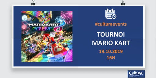 Tournoi Mario Kart 8 sur Switch