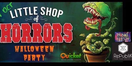 Little Shop Of Horrors Halloween Party