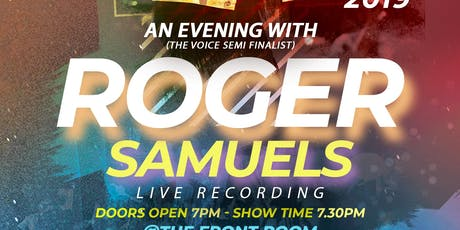 AN EVENING with ROGER SAMUELS  recorded LIVE... tickets