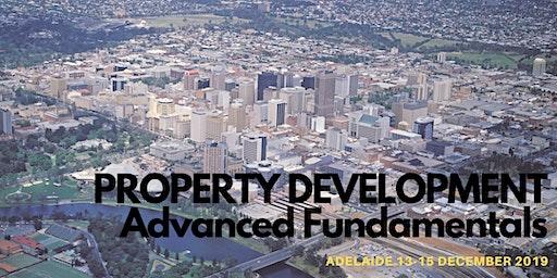 Property Development Advanced Fundamentals - 3 Day Workshop