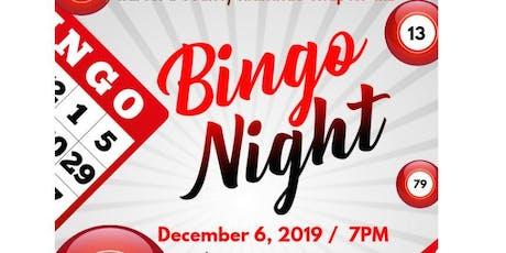 DST-Harford County Alumane Chapter Bingo Night Dec 2019 tickets