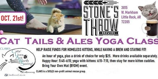 Cat Tails & Ales Yoga