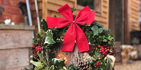 Christmas Wreath Making Workshop - 2 for £50 (FINAL EVENT!) tickets