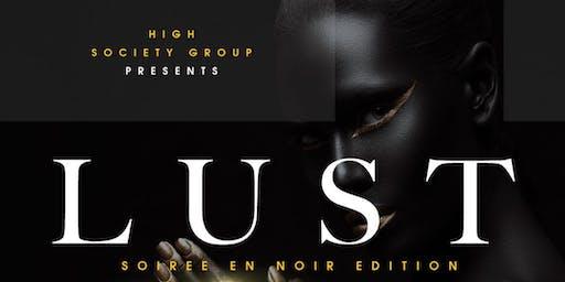 Soirée En Noir (All Black Party)