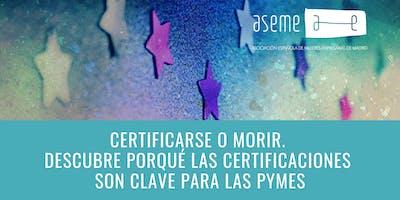 Brunch. Certificarse o morir. Por qué las certificaciones  son clave.