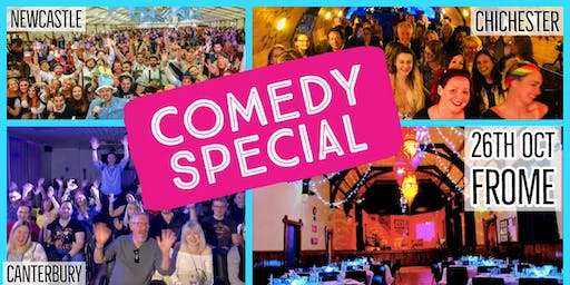 Comedy Special (with Prosecco & Craft Beer) - Silk Mill