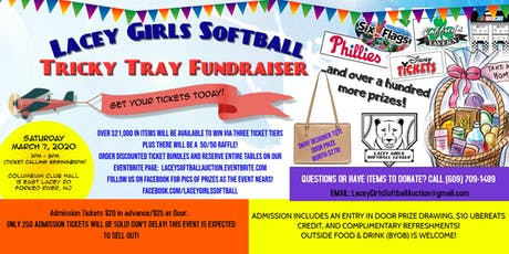 Lacey Girls Softball Annual Gift Auction tickets