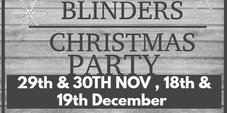 Peaky Blinders Christmas Party  tickets