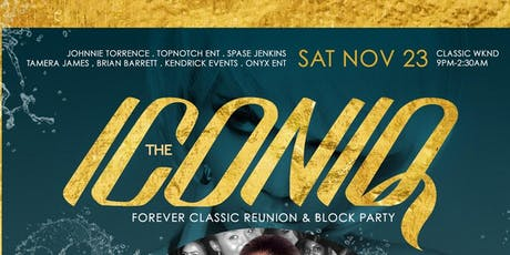 ICONIQ A CLASSIC AFTER PARTY @ ACE CAFE ORLANDO tickets