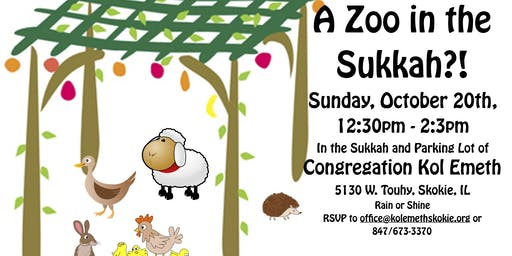 A Zoo in the Sukkah?!