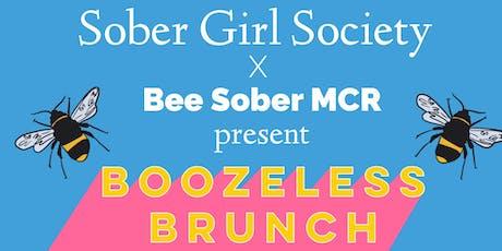 SOBER GIRL SOCIETY X BEE SOBER MCR: BOOZELESS BRUNCH MANCHESTER tickets