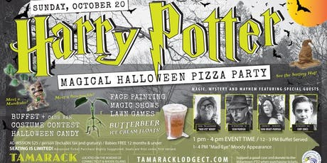 HARRY POTTER MAGICAL HALLOWEEN PARTY tickets