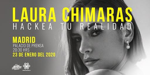 Conferencia Hackea Tu Realidad Laura Chimaras #Madrid