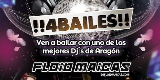 !!4Bailes!! @ Sala Corleone (Sabiñánigo / Huesca)