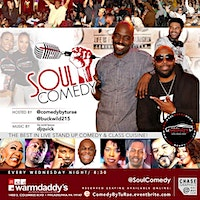 @SoulComedy at Warmdaddy's!!