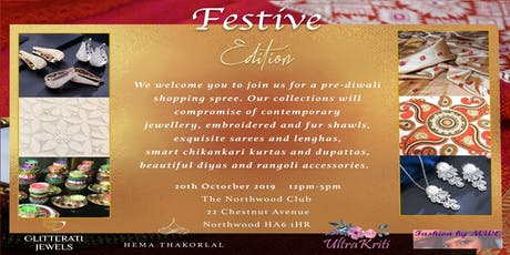 Diwali Shopping Event : Festive Edition tickets