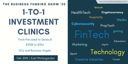 1-to-1 Investment Clinics at BFS'20