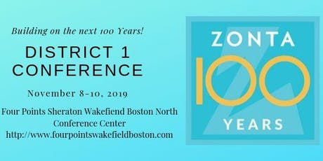 District 1 Fall Conference tickets