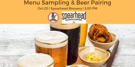 Menu Sampling and Beer Pairing tickets