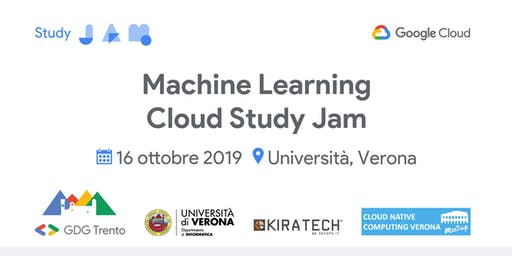 Machine Learning Cloud Study Jam @ Verona