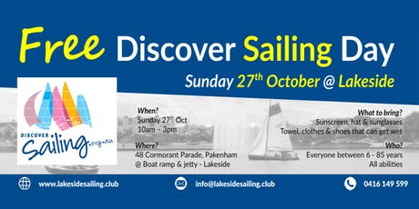Free Discover Sailing Day tickets