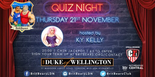 BritBears November Quiz Night with KY Kelly