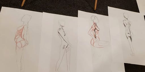 Taught Life Drawing -Dublin City Centre