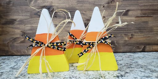 Open Party Candy Corn Block Party