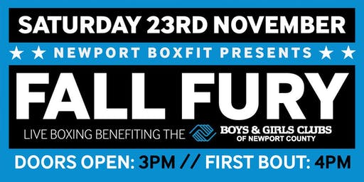Newport Boxfit Fall Fury Exhibition Boxing
