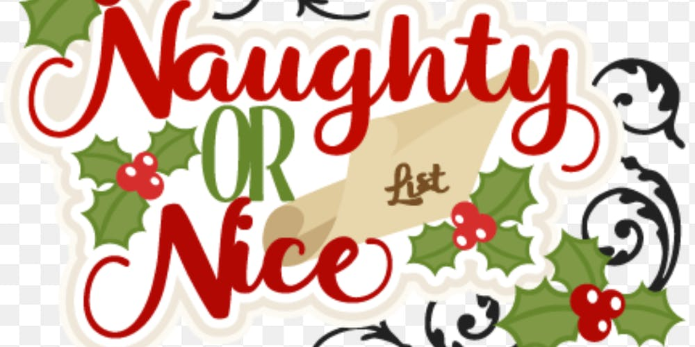 Image result for naughty and nice list clip art