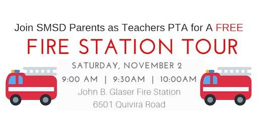 11/2/19 9AM SMSD Parents as Teachers PTA Fire Station Tour