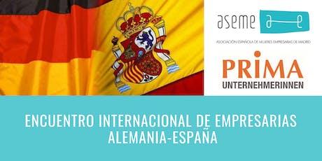 Encuentro Empresarias España-Alemania entradas